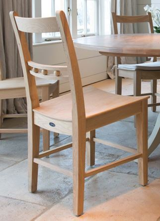 Suffolk Chair x 1 - Natural oak