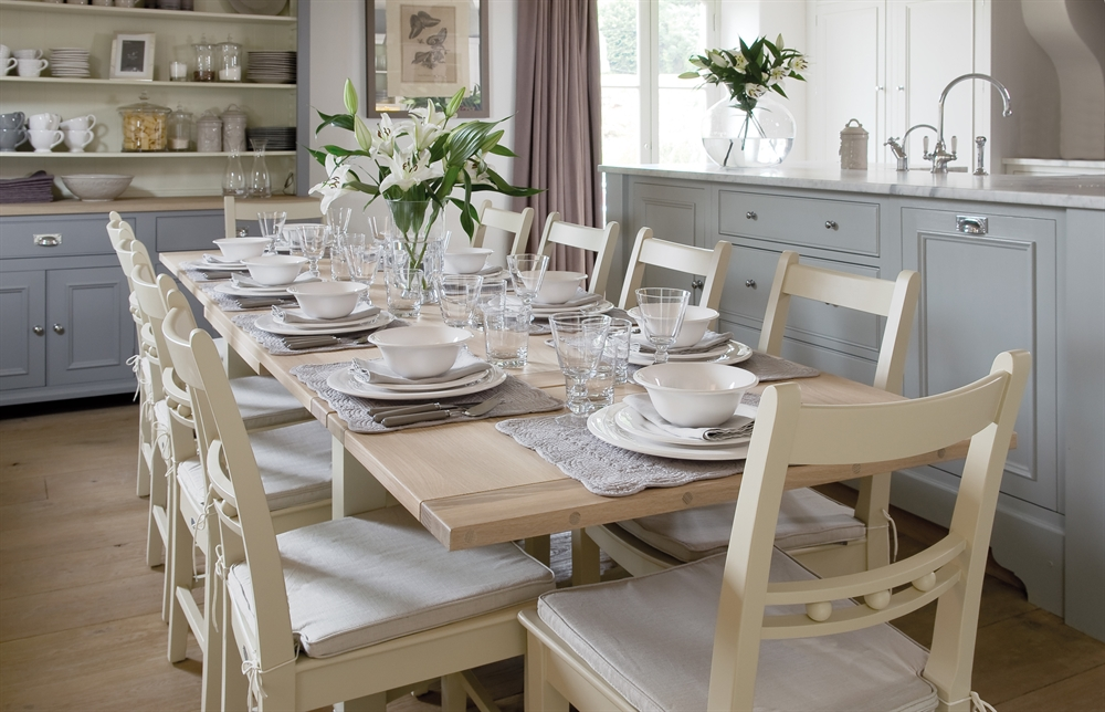 dining tables | malone & smyth | furniture & kitchens ireland 10 Seater Dining Table